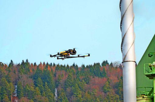 Drohnen helfen bei der Digitalisierung