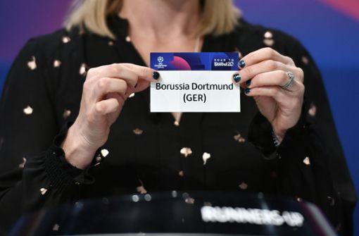 Borussia Dortmund trifft auf Ex-Trainer Tuchel