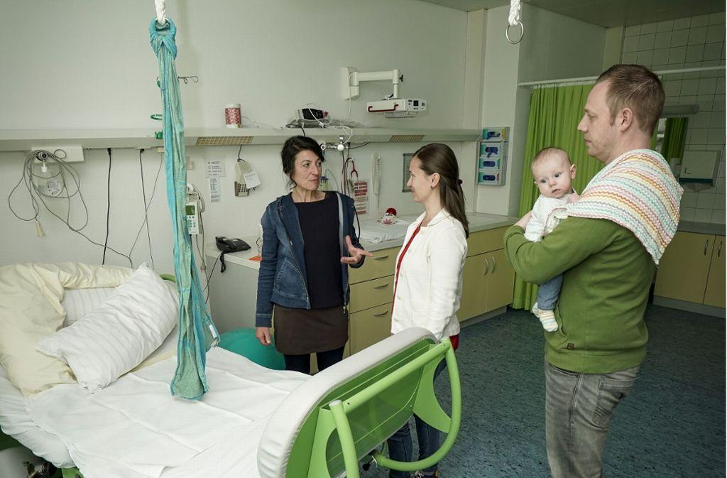 Einmal im Monat bietet die Leonberger Geburtsstation einen Infoabend für werdende Eltern mit Kreißsaalführung an. Foto: factum/Weise