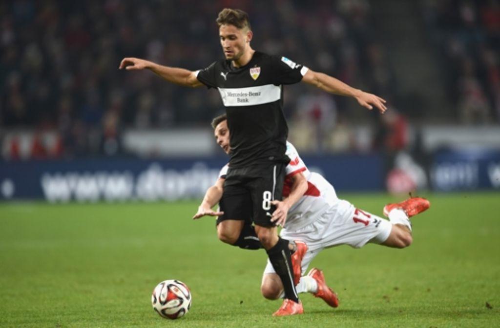 Moritz Leitner wird beim VfB Stuttgart oft zu zweikampfschwaches Verhalten nachgesagt.  Foto: Getty Images