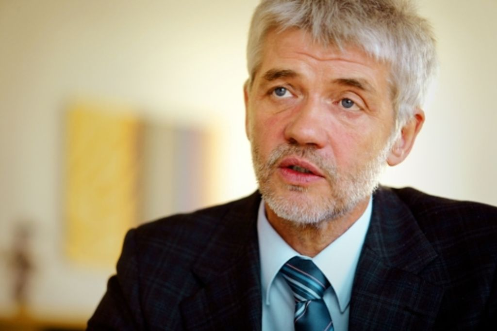 Präsident bei Gericht und beim Skiverband: Franz Steinle Foto: StZ
