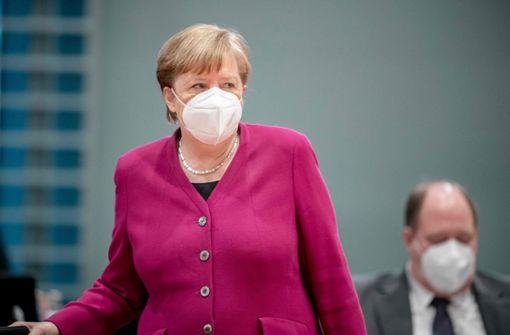 """Angela Merkel: """"Können Übergang in eine neue Phase gehen"""""""