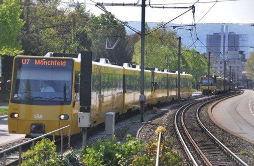 Stadtbahn-Chaos am Pragsattel