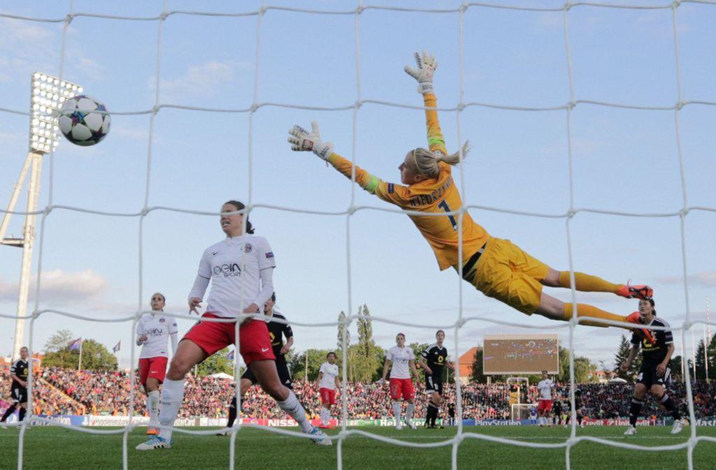 Eurosport überträgt ab dieser Saison Topspiele der Frauenfußball-Bundesliga live. Foto: dpa