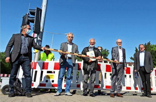 Neuer Kreisverkehr soll an alte Zeiten erinnern