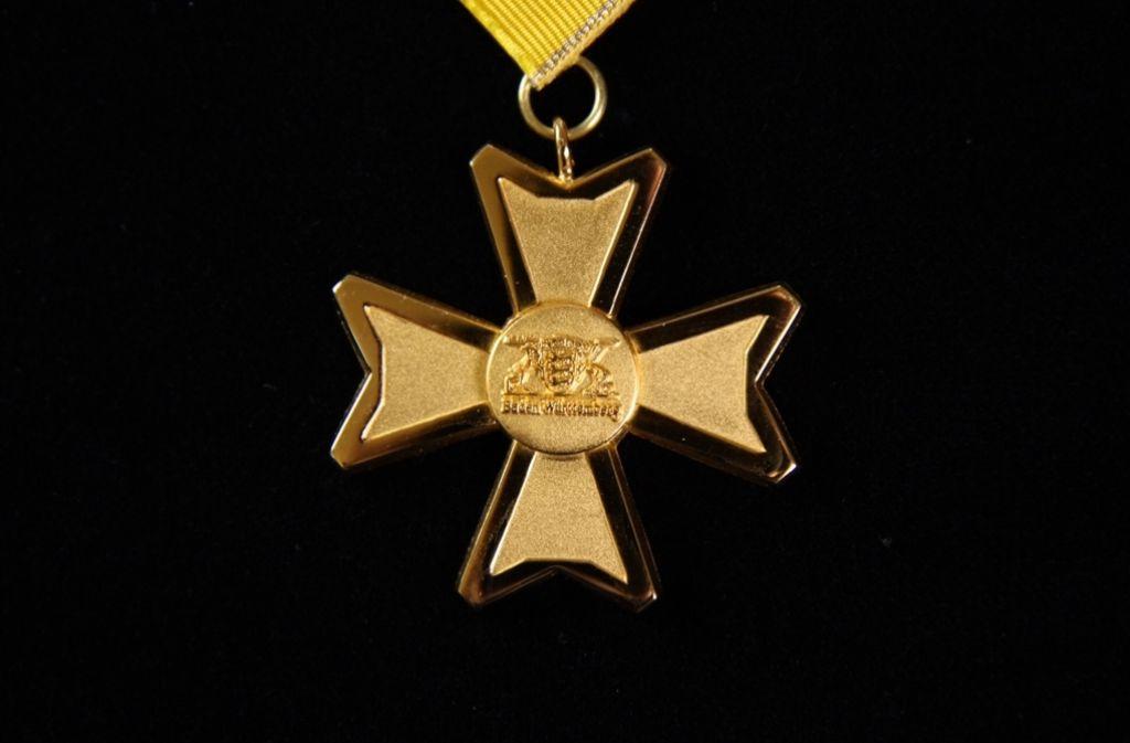 Der Orden wird seit 1975 verliehen. In diesem Jahr gibt es ihn zum ersten Mal im neuen Design. Foto: Staatsministerium