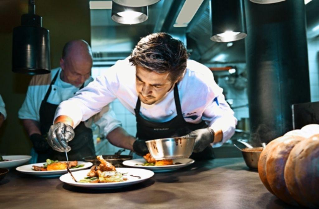 Christian Belser versteht sich auf gute Küche. Foto: Horst Rudel
