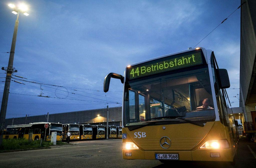 Der Busverkehr der SSB – hier der Betriebshof in der Schockenriedstraße in Vaihingen – soll verbessert  werden. Foto: Lichtgut/Leif Piechowski
