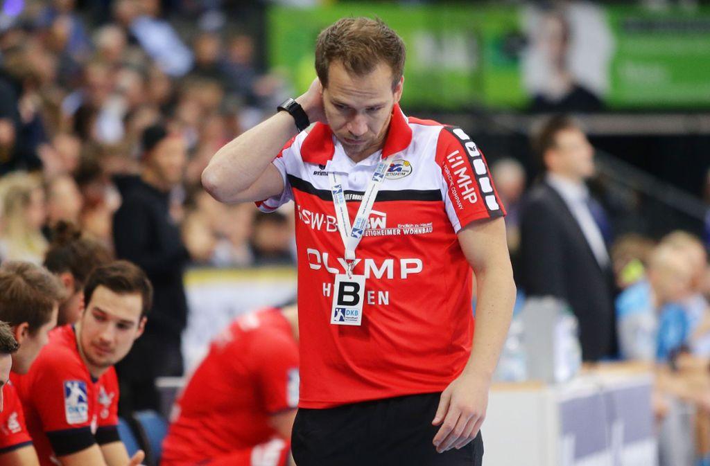 Das war's  für Ralf Bader: Der ehemalige Pfullinger Bundesligaspieler war bei der  SG BBM Bietigheim nur ein halbes Jahr Trainer. Foto: Baumann