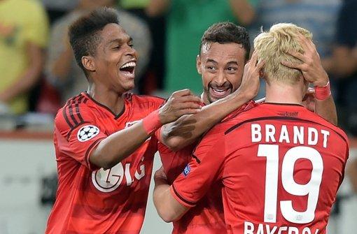 Bayer Leverkusen erreicht die Champions League