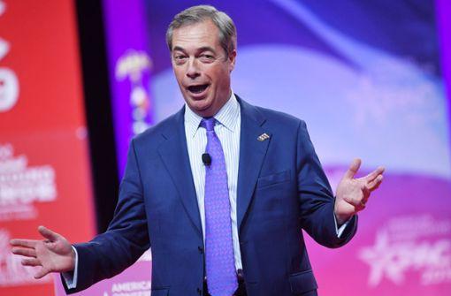 Die neue  Mission des Nigel Farage