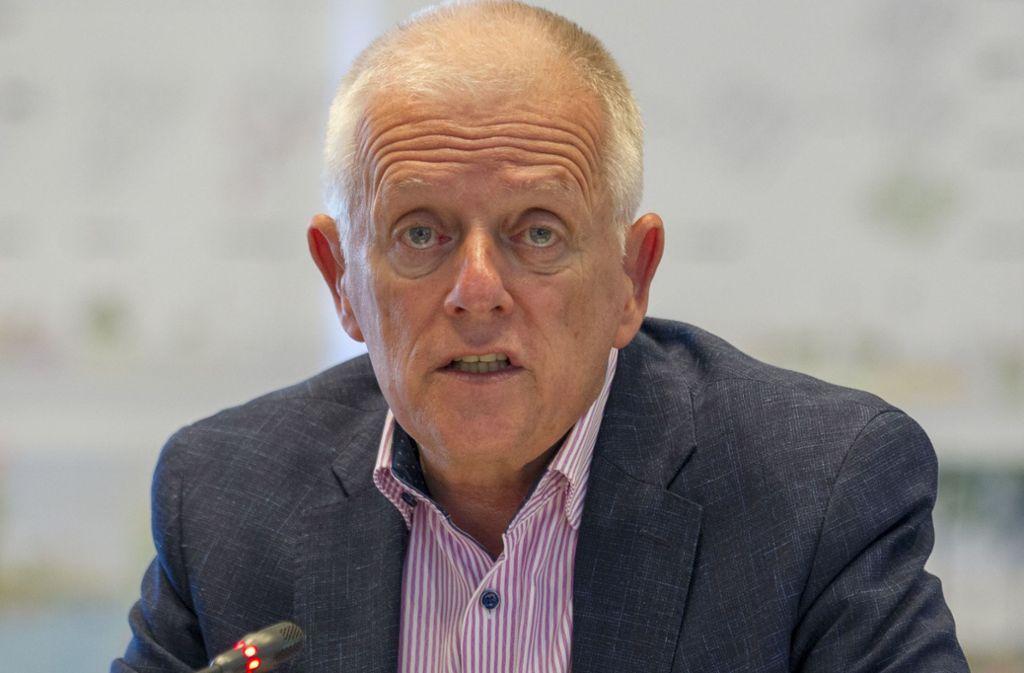 OB Fritz Kuhn (Grüne)  will mit dem Klimapaket ein Zeichen setzen. Foto: Leif Piechowski