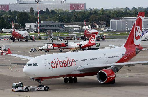 Air Berlin-Crews melden sich wieder zur Arbeit