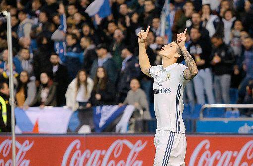 James Rodriguez von Real Madrid ausgeliehen