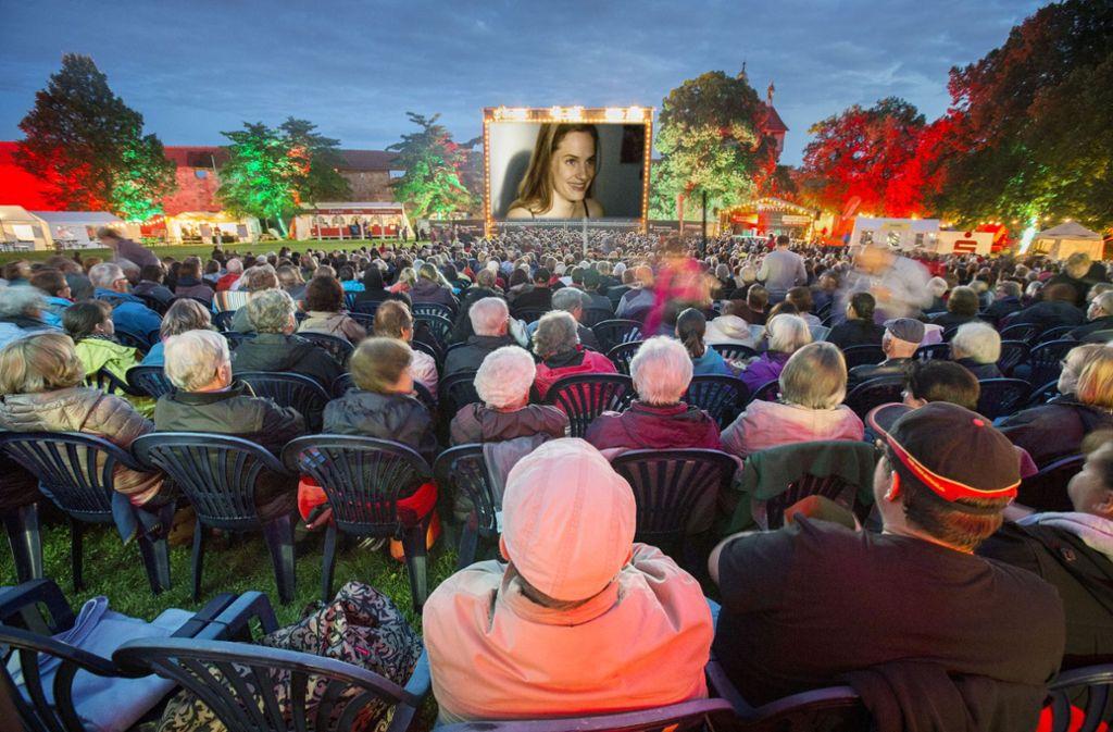Das Kino auf der Burg in Esslingen ist eines der Veranstaltungs-Highlights im Sommer in der Region. Eine Übersicht über die Events gibt's in unserer Bildergalerie. Foto: Michael Steinert