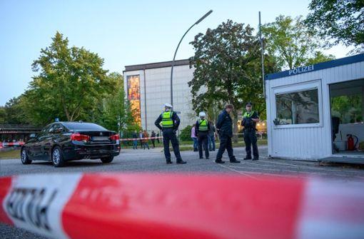 Mann bei Attacke nahe  Hamburger Synagoge erheblich verletzt
