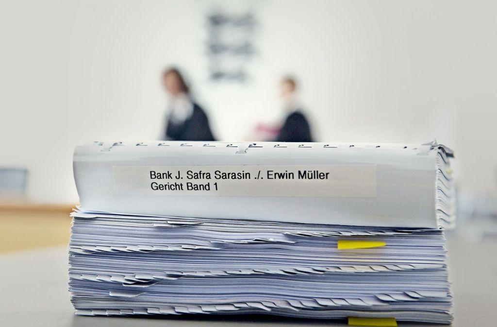 Das OLG Stuttgarter hat  Erwin Müller den vollen Schadenersatz zugesprochen. Foto: dpa