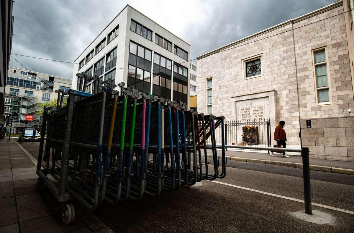 Zuletzt musste die Stuttgarter Synagoge durch starken Polizeieinsatz geschützt werden. Foto: Lichtgut/Leif Piechowski