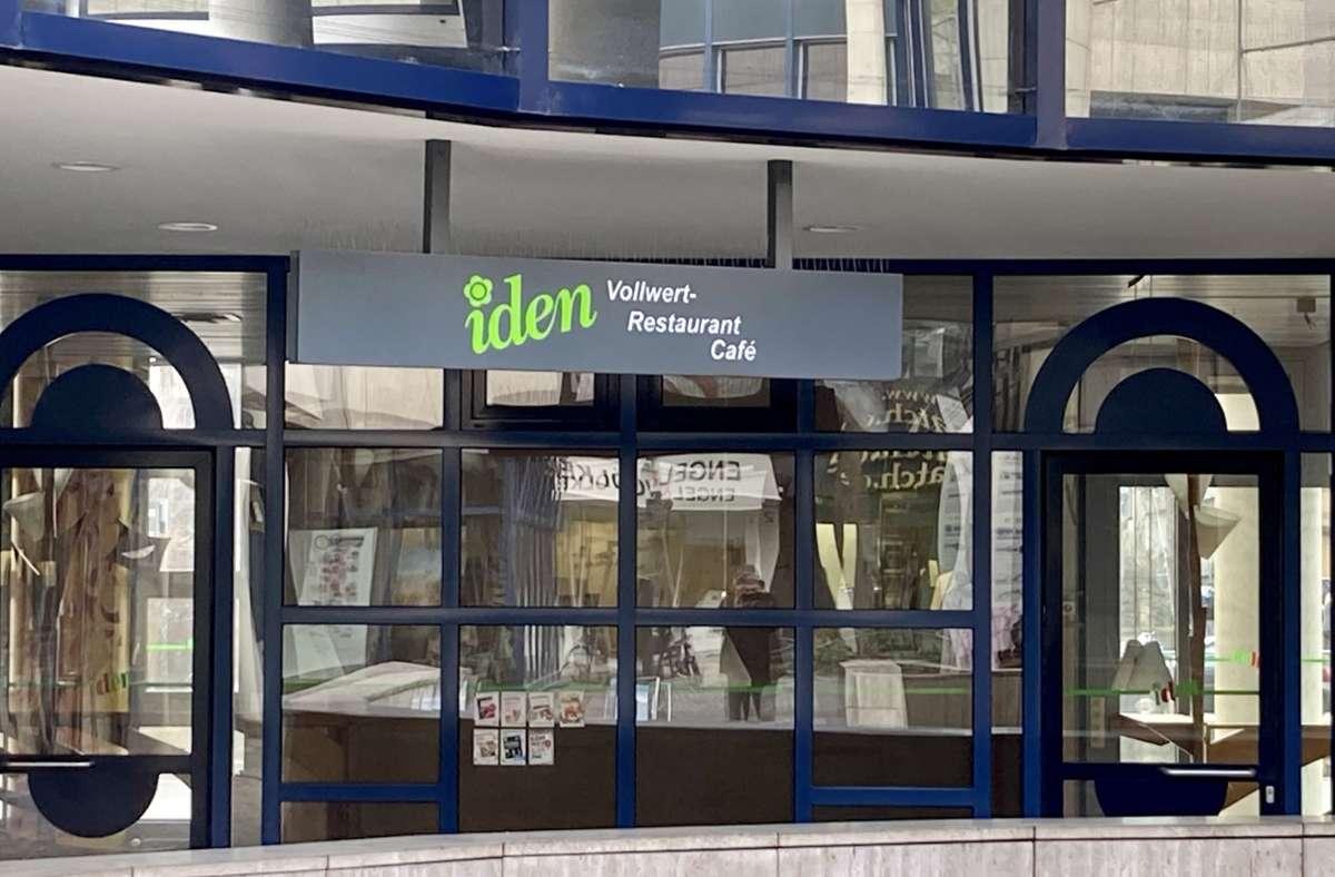 Das Restaurant an der Eberhardstraße ist schon länger zu. Foto: Matthias Ring