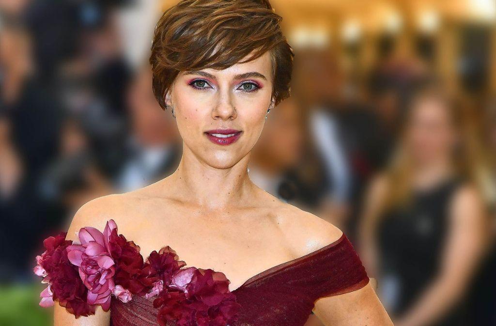 """Scarlett Johansson zieht zurück:  Sie wird keinen Transgender-Mann in """"Rub & Tug"""" spielen. Foto: AFP"""