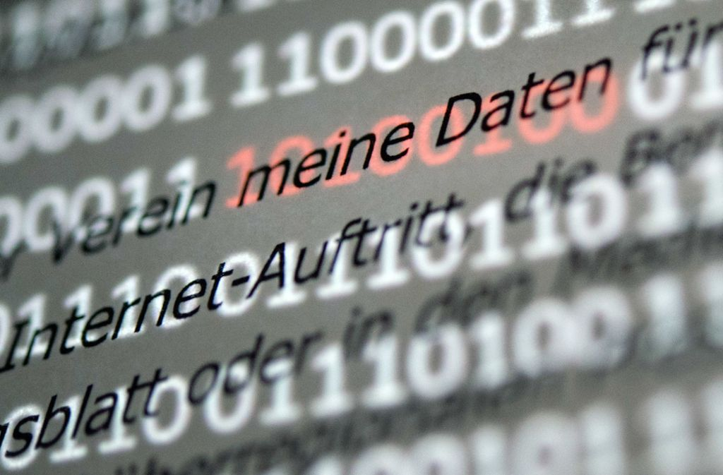 Seit Mai vergangenen Jahres gilt der neue, europaweite Datenschutz Foto: dpa