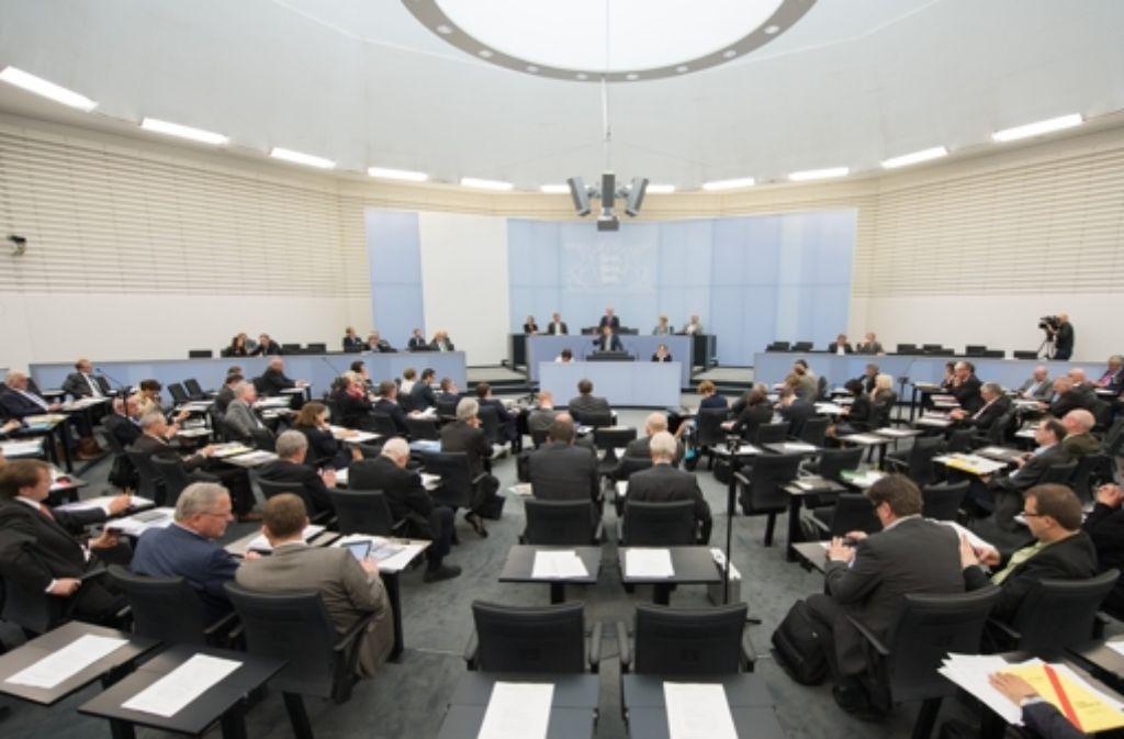 Letzter Tag vor der Sommerpause: Der Landtag in Stuttgart. Foto: dpa