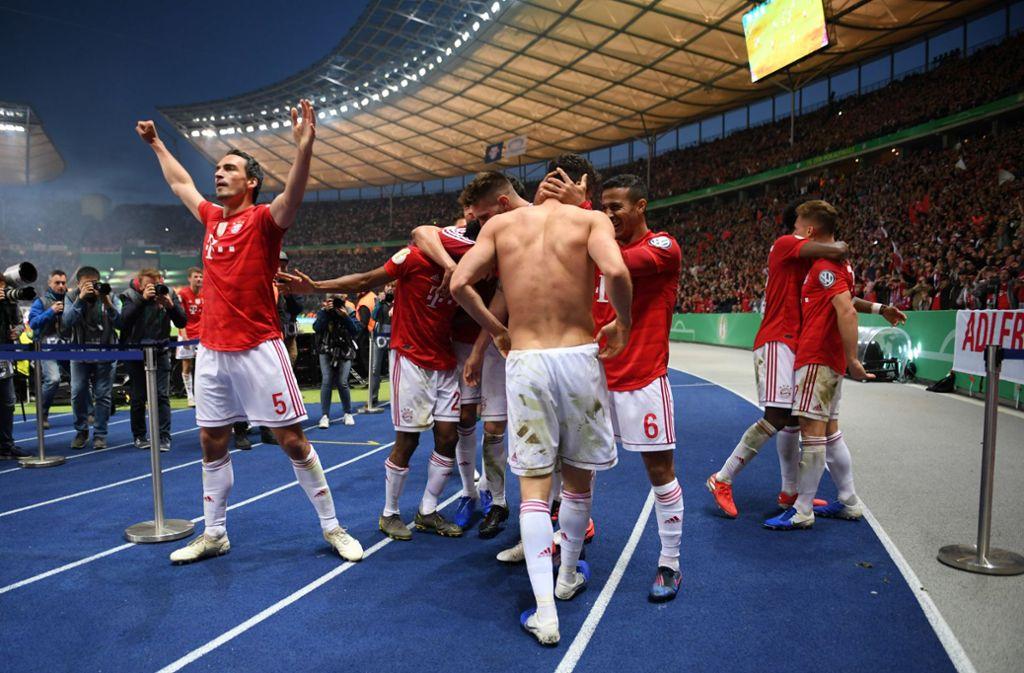 Der FC Bayern ist DFB-Pokalsieger 2019. Foto: Bongarts/Getty Images