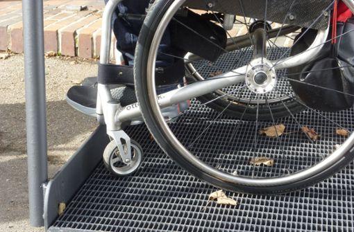Rollstuhlfahrerflucht in Ludwigsburg