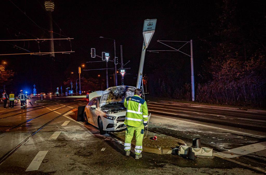 Es entstand Schaden in Höhe von mehreren Zehntausend Euro. Foto: 7aktuell.de/Alexander Hald
