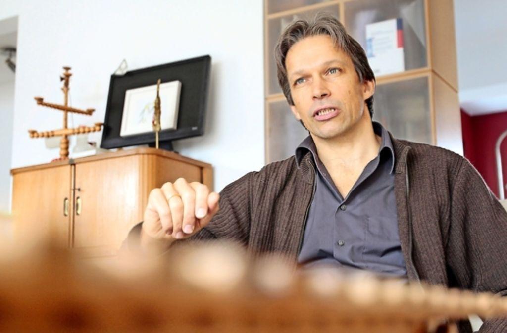 Der  Architekt Jörn Gutbier wünscht sich von den Städten  Mut zur Vorsorge Foto: factum