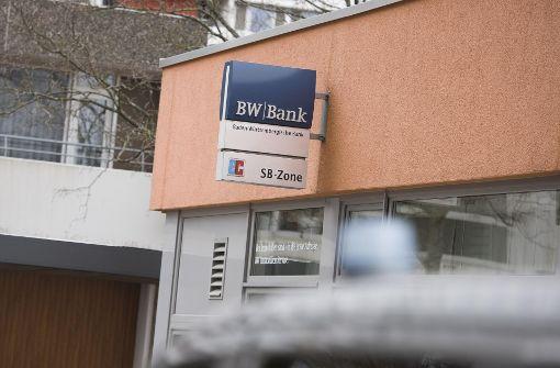Nach sieben Jahren wieder ein Bankraub in Stuttgart