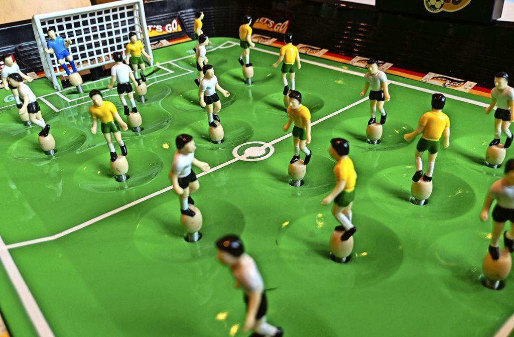 Im Muse-O können Fußball-Spiele aller Art ausprobiert werden. Foto: Jürgen Brand