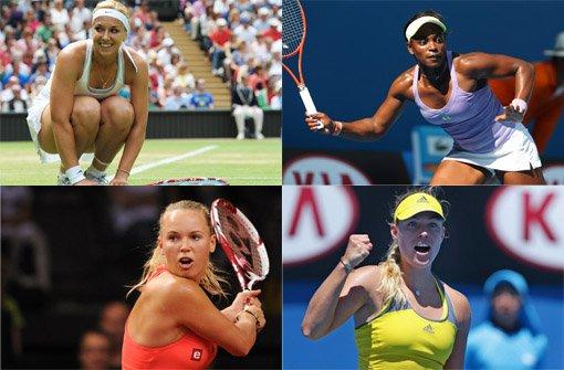 Diese Tennis-Damen sind bei deutschen Männern heiß begehrt