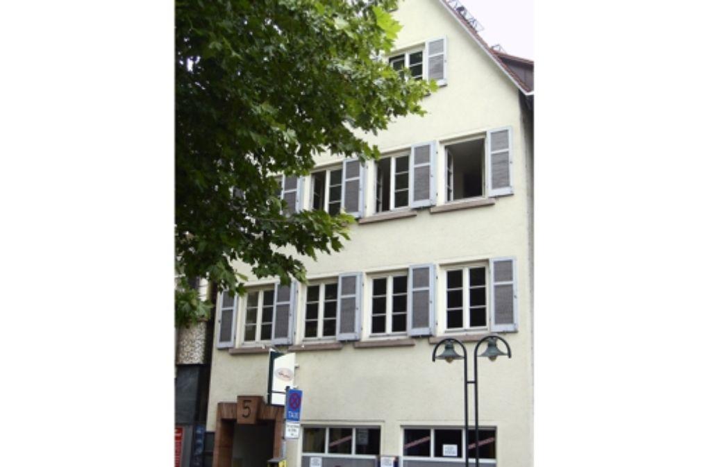 Im ersten Stock befindet sich die neue Geschäftsstelle des Landesverbands. Foto: B. Haag