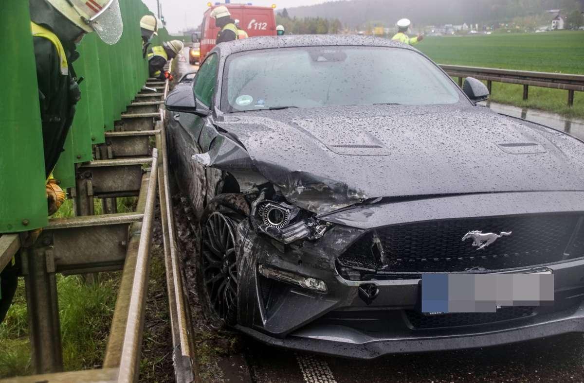 Der Unfall ereignete sich bei Renningen. Foto: SDMG/Dettenmeyer