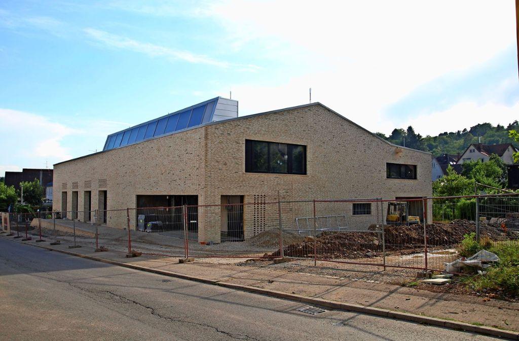 Rund sechs Millionen Euro wird die neue Schul- und  Mehrzweckturnhalle Foto: