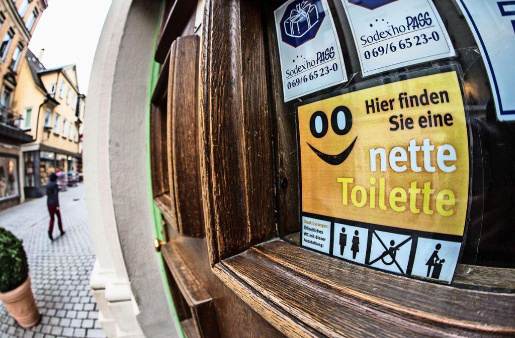 Ab Herbst soll es auch in Vaihingen und Möhringen nette Toiletten geben. Foto: Archiv  Rudel
