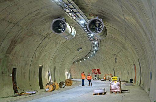 Tunnelspezialisten müssen jetzt Gas geben