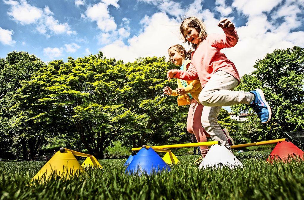 Die sportliche Aktion will 2017 mehr Kinder in den Park locken. Foto: Leif Piechowski