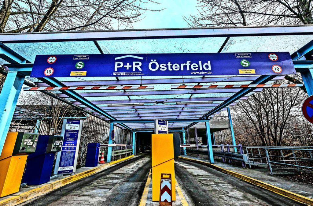 Auch auswärtige Dieselfahrer dürfen ins Österfeldparkhaus rein, vorausgesetzt, sie steigen auf den öffentlichen Nahverkehr um. Foto: Lichtgut/Leif Piechowski