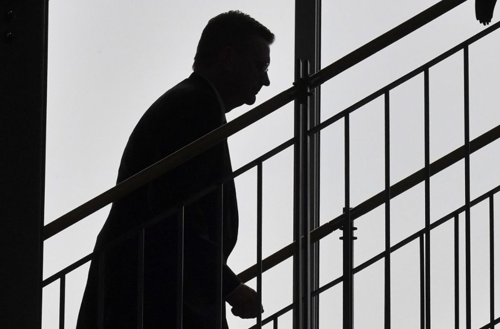 Der zwölfte DFB-Präsident geht: Reinhard Grindel ist von seinem Amt zurückgetreten. Foto: AFP