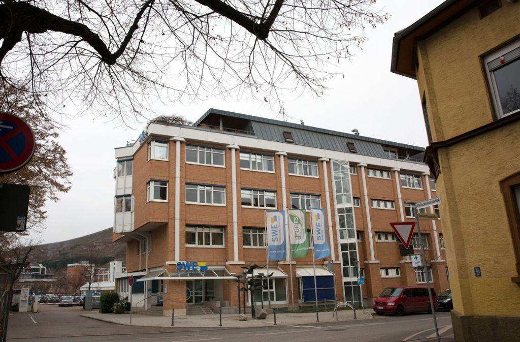 Die neue Zentrale der Stadtwerke soll in den Neckarwiesen stehen. Foto: Ines Rudel