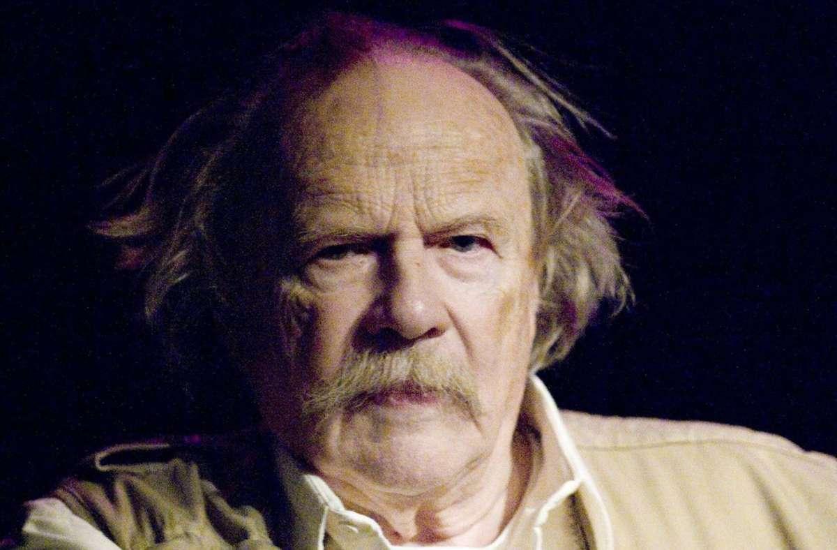 Der schwedische  Schriftsteller Jan Myrdal  ist am Freitag gestorben. Foto: imago
