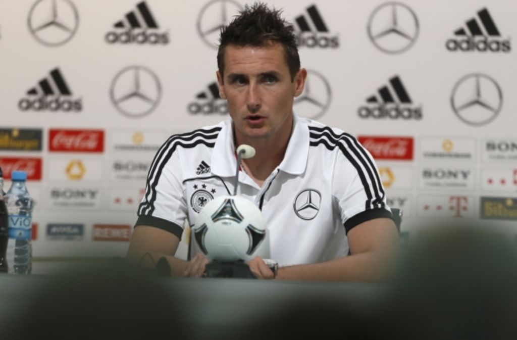 Miroslav Klose bringt die Erfahrung aus 116 Länderspielen mit. Foto: AP