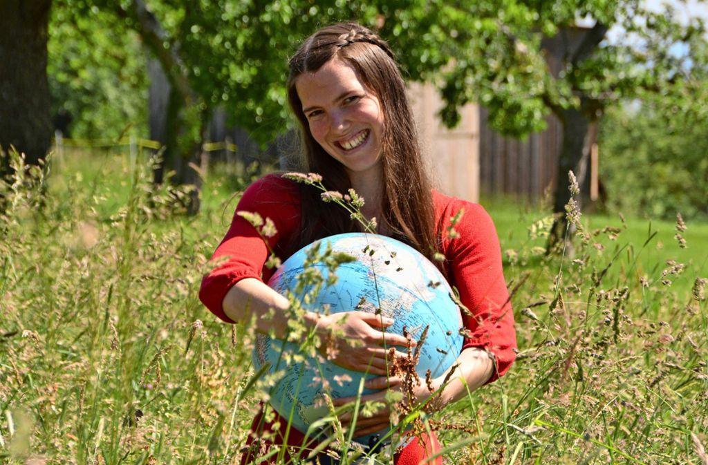 Myrthe Baijens ist Klimamanagerin in Filderstadt. Foto: oh