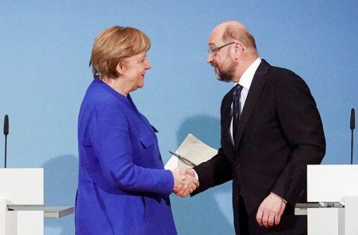 Die Ergebnisse der Sondierung von Union und SPD im Überblick