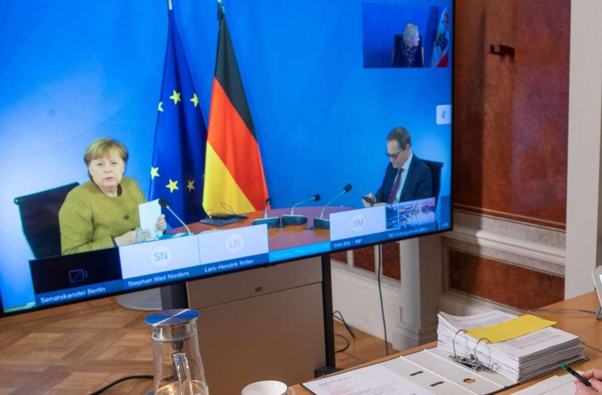 Bund und Länder haben sich auf weitergehende Ausgangssperren verständigt. Foto: dpa/Jens Büttner