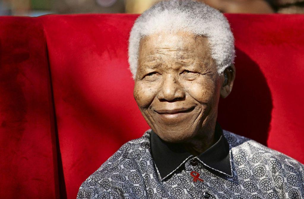 Nelson Mandela wäre am Mittwoch 100 Jahre alt geworden. Foto: EPA FILE