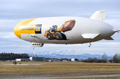 Zeppeline starten mit Extremflug in die neue Saison