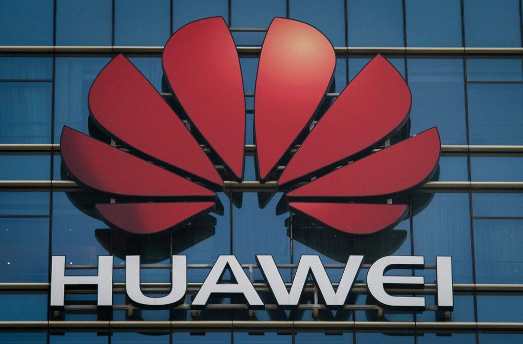 Die USA wollen gegen Huawei vorgehen Foto: AFP